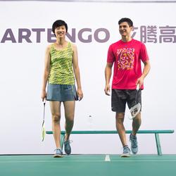 Sportshirt racketsporten Soft 500 heren - 181882