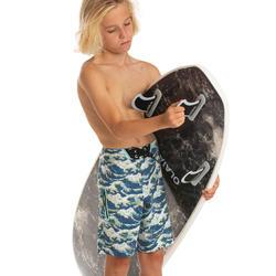 Bañador Niño Surf Olaian 900L Tween Hokusai Azul