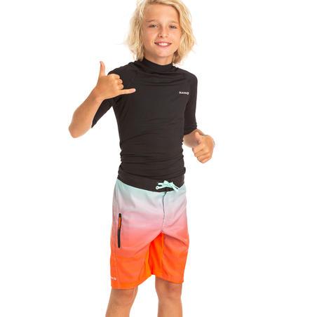 KIDS' UV TOP 100S - BLACK