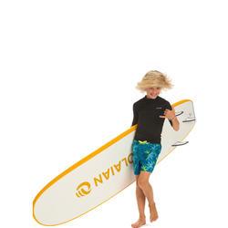 Fato de Banho de Surf 100 Menino Turquesa