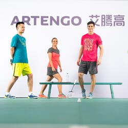 Artengo dames-T-shirt Soft Graph voor tennis, badminton, tafeltennis, padel grn - 181885