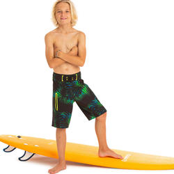 Bañador Niño Surf Olaian 950L Tween Green
