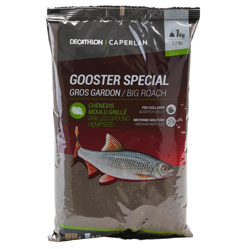 GOOSTER SPECIAL BAIT BIG ROACH BLACK 1kg