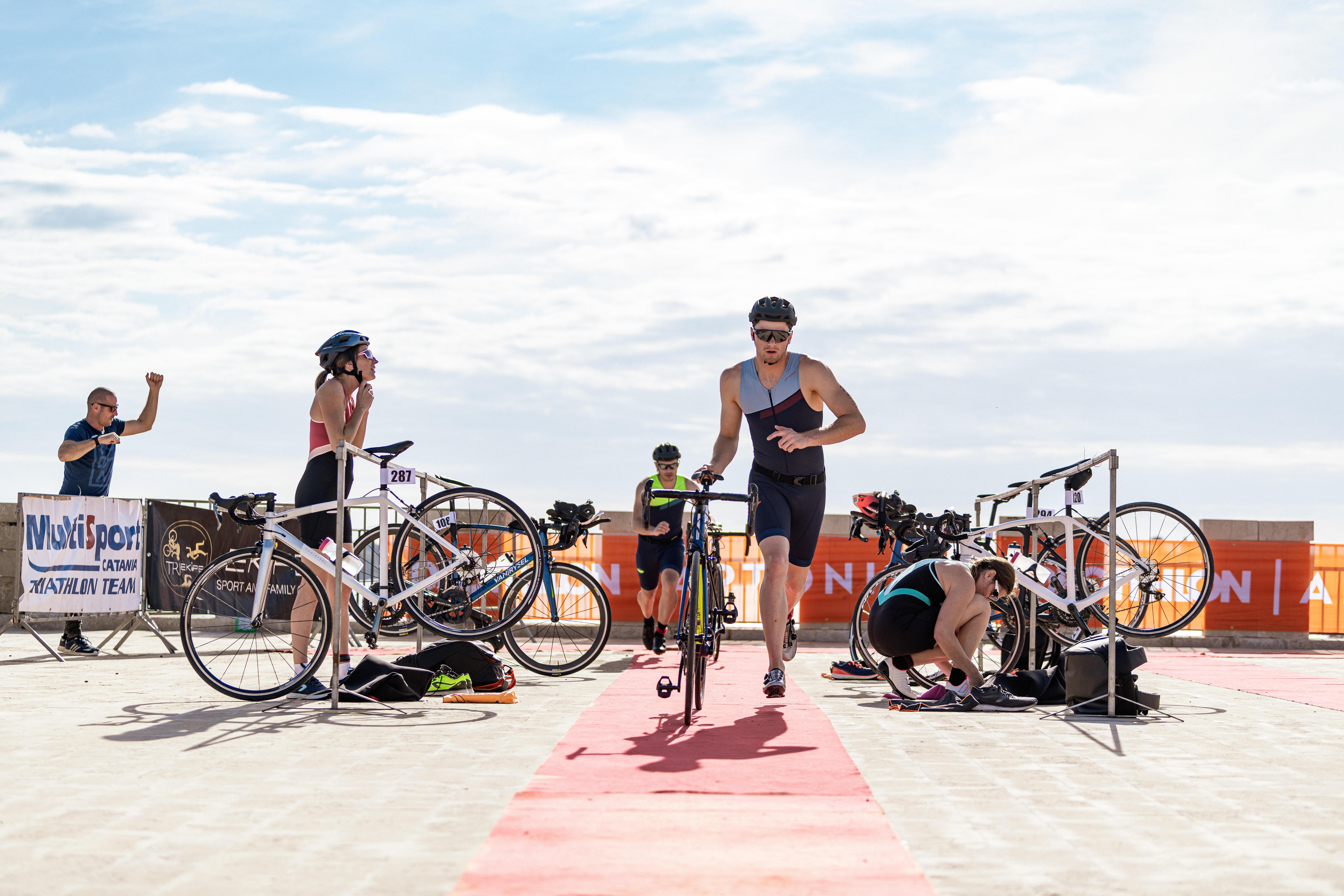 triatlon değişim alanı
