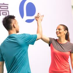 Artengo dames-T-shirt Soft Graph voor tennis, badminton, tafeltennis, padel grn - 181910