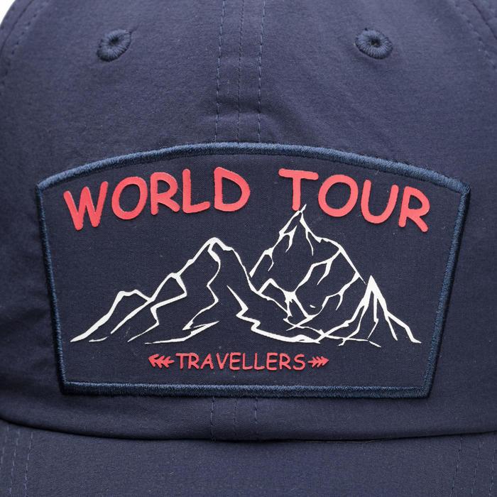 Trek 500 Mountain Trekking Ventilated Cap -Blue