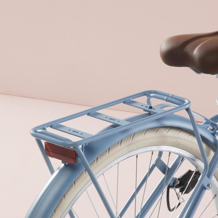 Stadsfiets Elops 520 laag frame jeansblauw