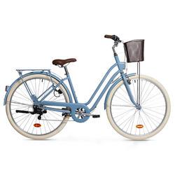 City Bike 26/28 Zoll Elops 520 LF Damen hellblau