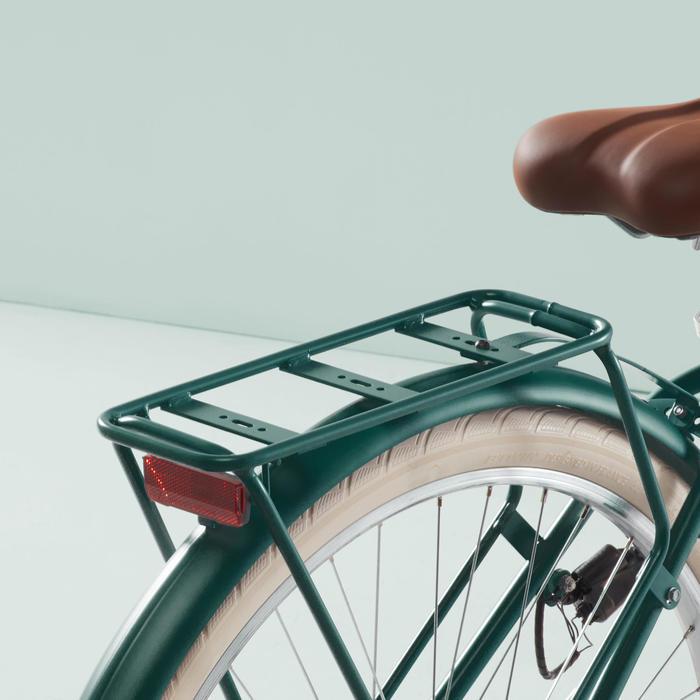Stadsfiets Elops 520 laag frame groen