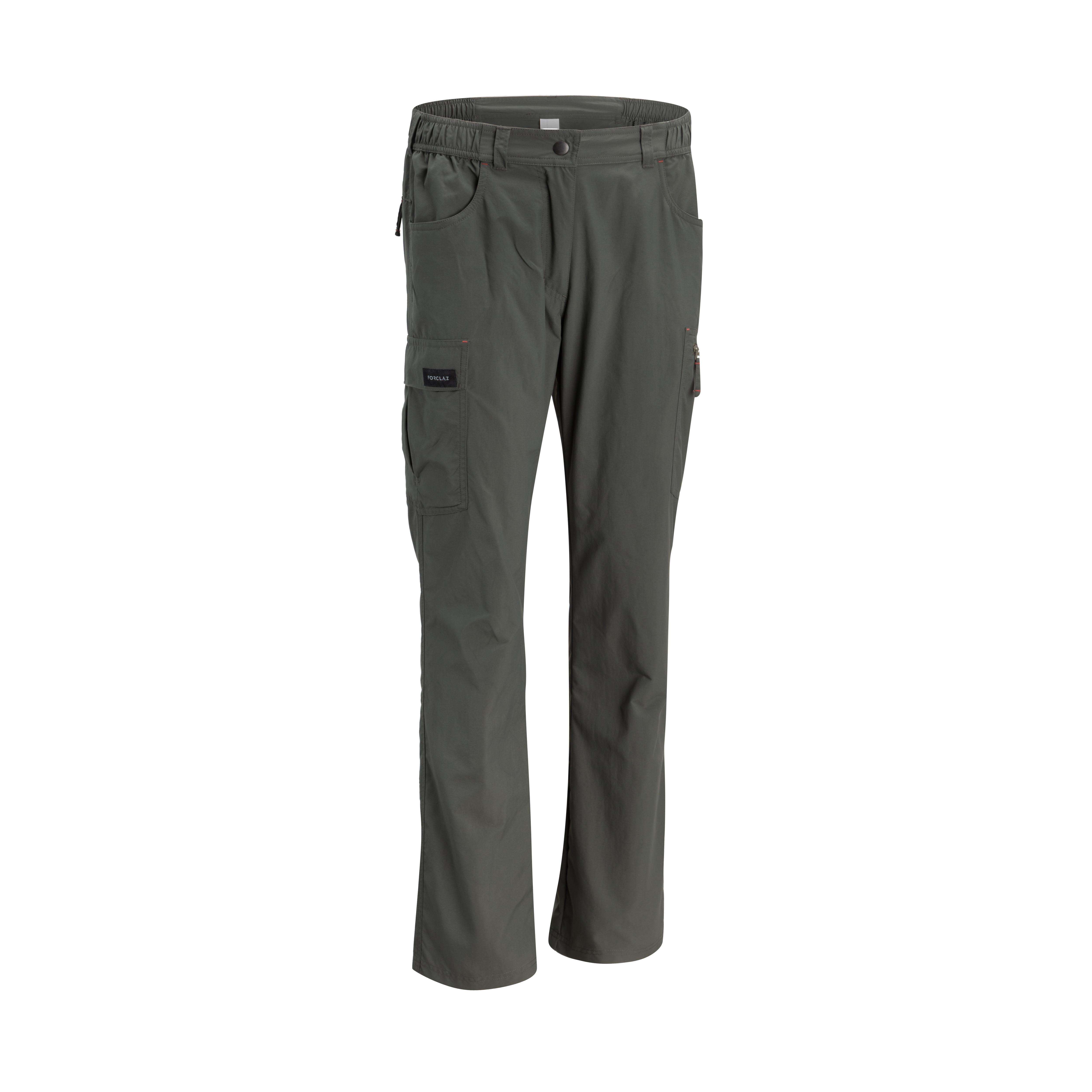 Pantalon TREK 100 GRI imagine