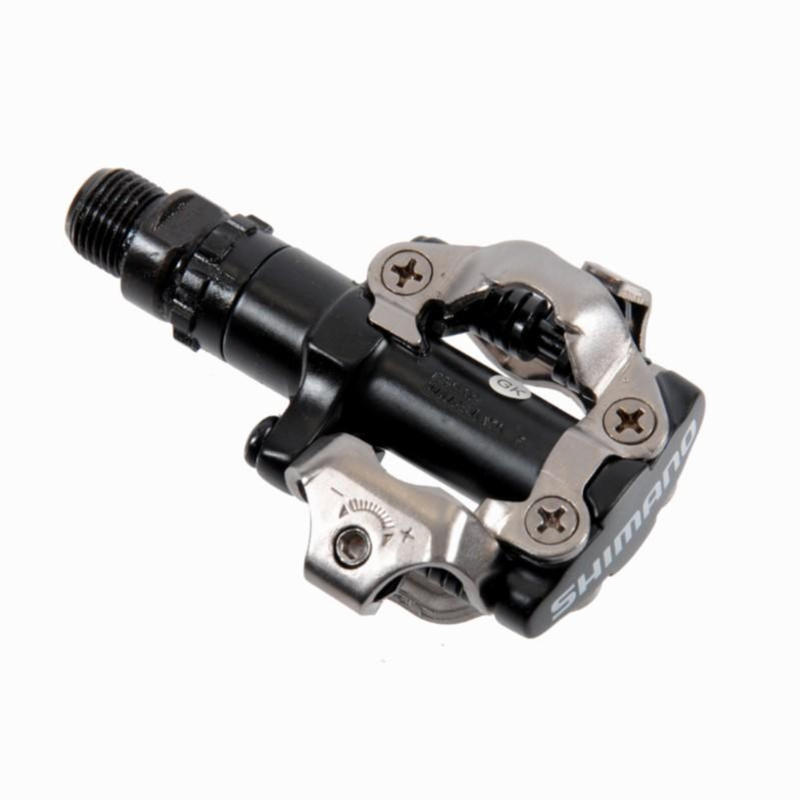 Clipless Mountain Bike Pedals M-520 - Black