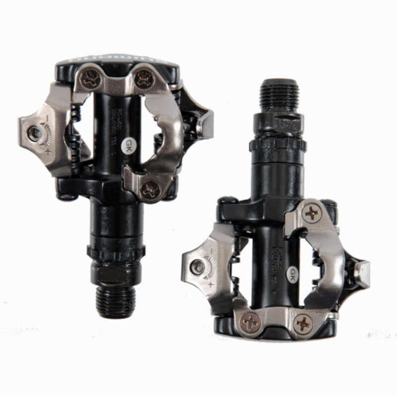 MTB PEDALS & CLEATS Cycling - PD-M520 SPD Clipless Mountain Bike Pedals SHIMANO - Bike Parts
