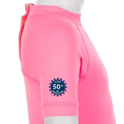 Baby UV-protection Short Sleeve T-Shirt - Pink