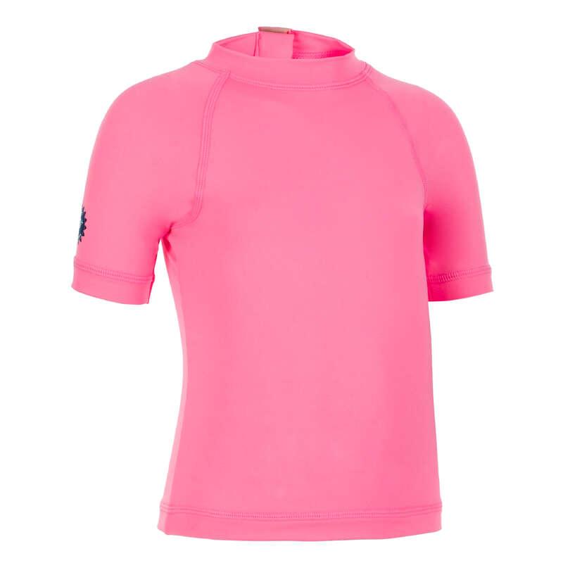 COSTUM DE BAIE BEBELUȘI Copii - Tricou anti-UV Roz Copii NABAIJI - Imbracaminte