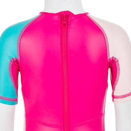 Baju Renang Perlindungan UV Batita Kloupi - Motif Panda Pink
