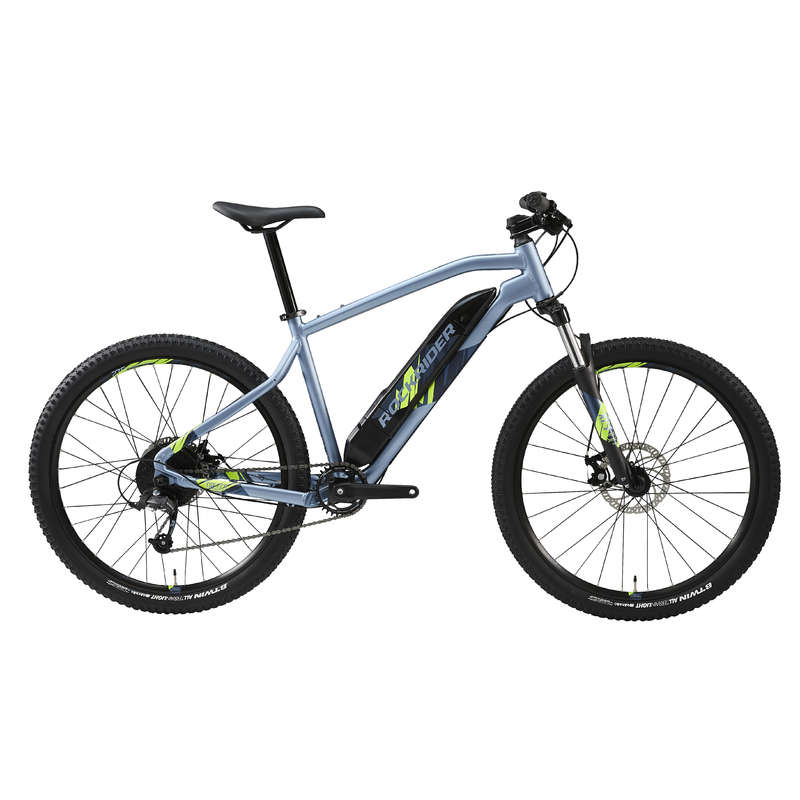 Decathlon Rockrider E-ST100 Electric Mountain Bike
