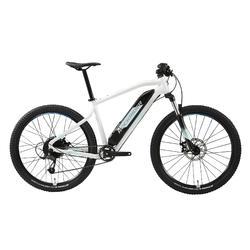 "Elektrische mountainbike dames E-ST 100 27.5"" wit"