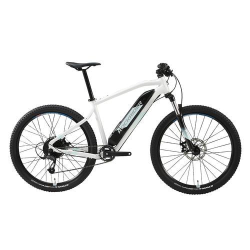 Vélo VTT électrique E-ST100 FEMME BLANC 27''5