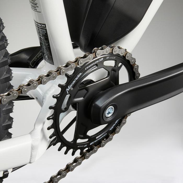 "Elektrische mountainbike voor dames E-ST 100 27.5"" wit"