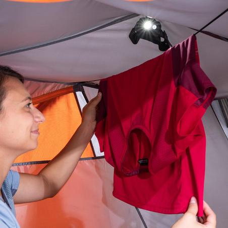 Casa domo trekking autosujeción 3 estaciones - TREK 500 gris naranja 2 pers.