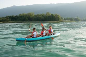 randonnée kayak