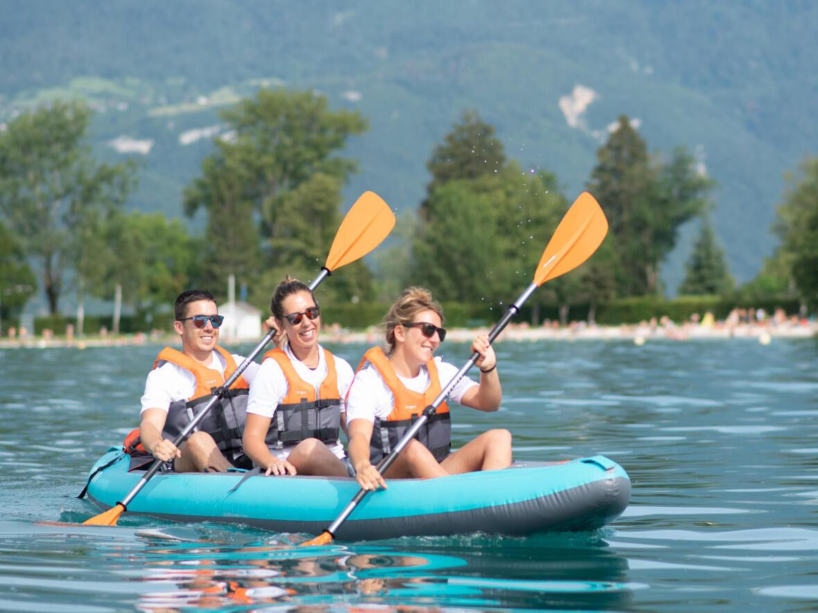 canoa-kayak facilmente trasportabile
