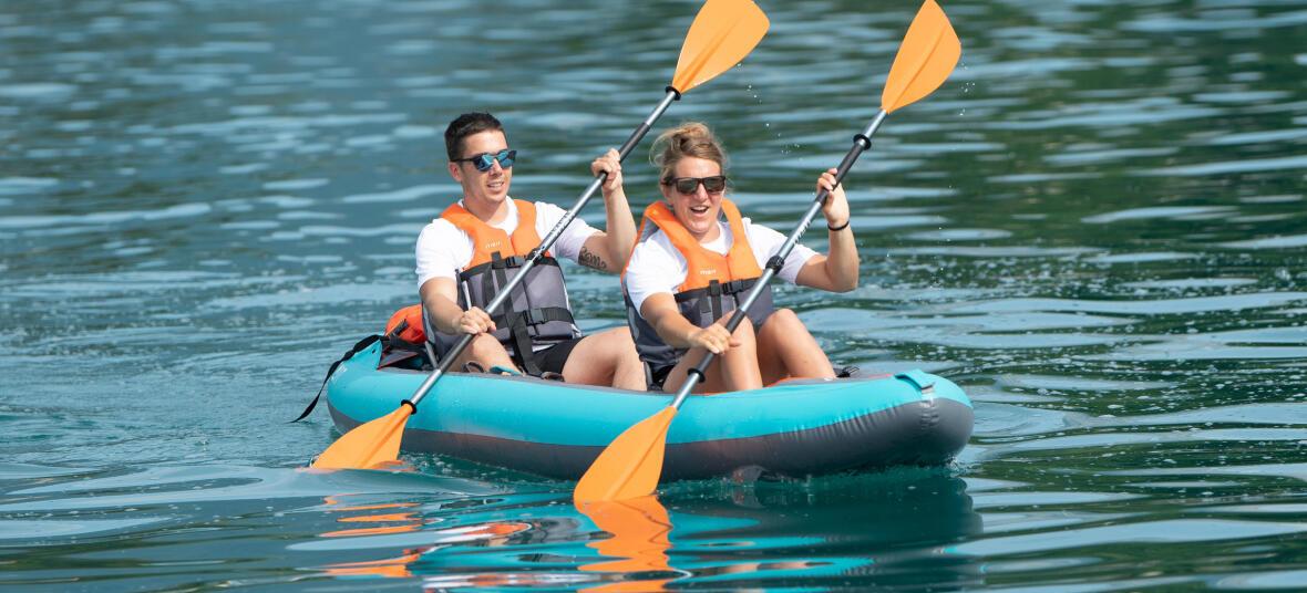 kayak gonflable tandem