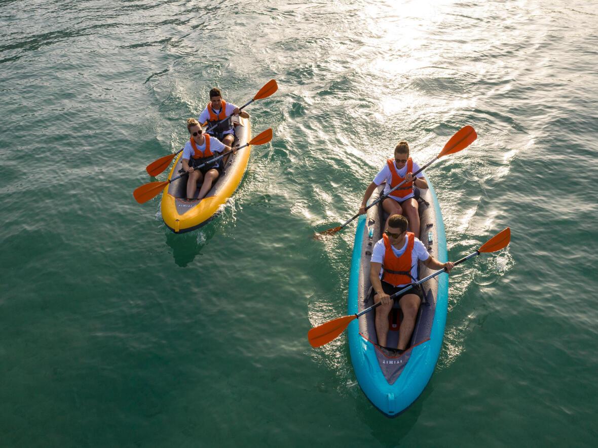 inflatable kayak friend