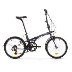 Vélo pliant TILT 500 bleu