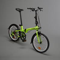Tilt 500 Folding Bike - Yellow