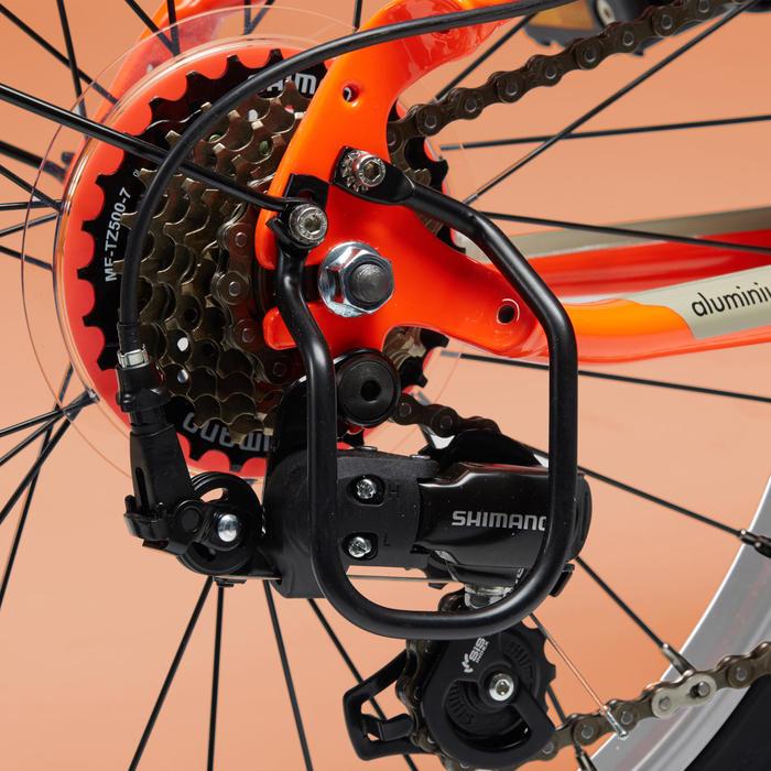 Vouwfiets Tilt 500 fluo-oranje