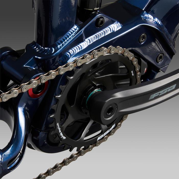 """Elektrische MTB E-All Mountain Stilus 27.5""""+ blauw"""