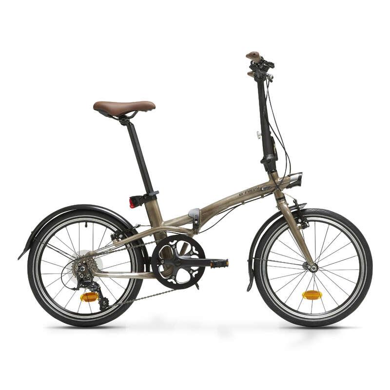 COMPACT / FOLDING BIKE Cycling - Tilt 900 Folding Bike - Lacquered Aluminium B'TWIN - Bikes