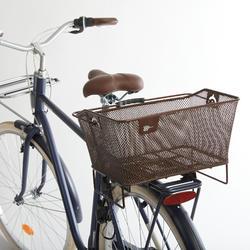 Fahrradkorb 500 13 Liter braun