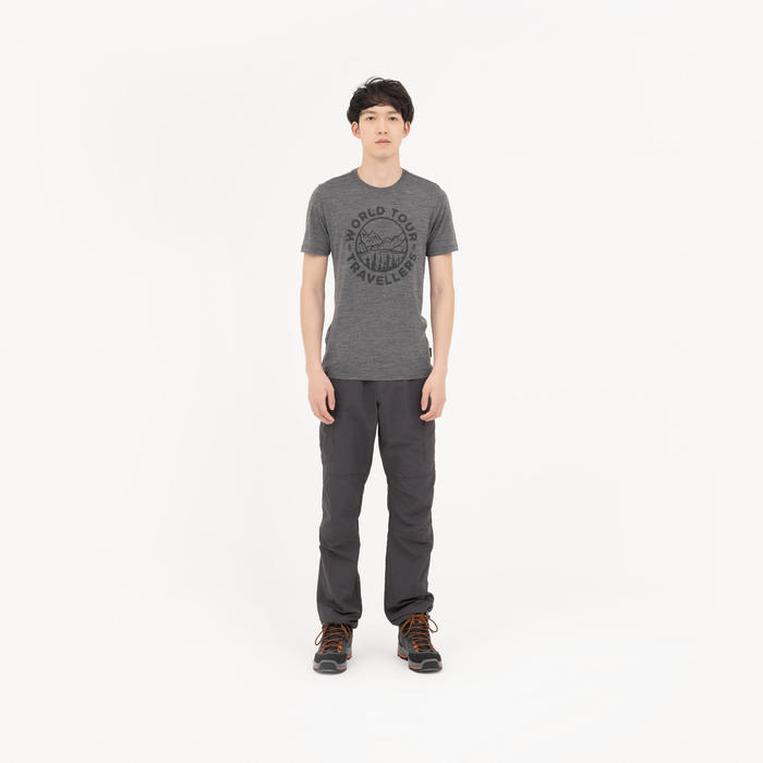 男款長褲TREK 100 CBG