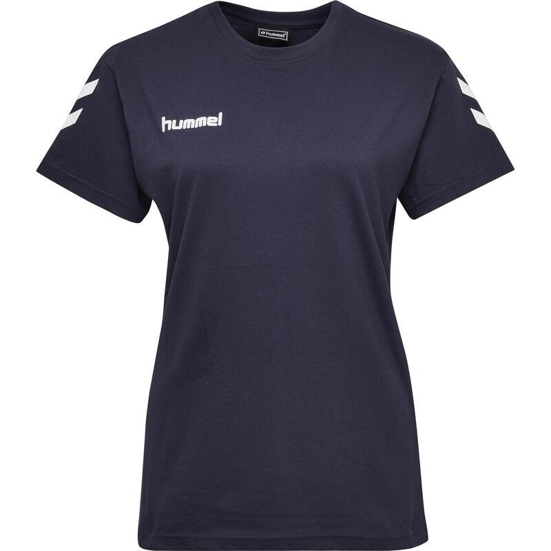 Maillot de handball MC femme bleu marine