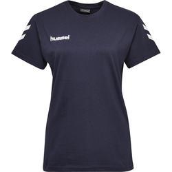 Handballtrikot Kurzarm Damen marineblau