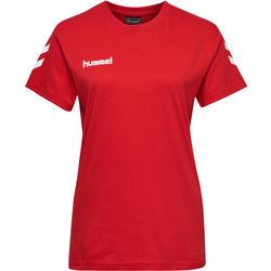 Handballtrikot Kurzarm Damen rot