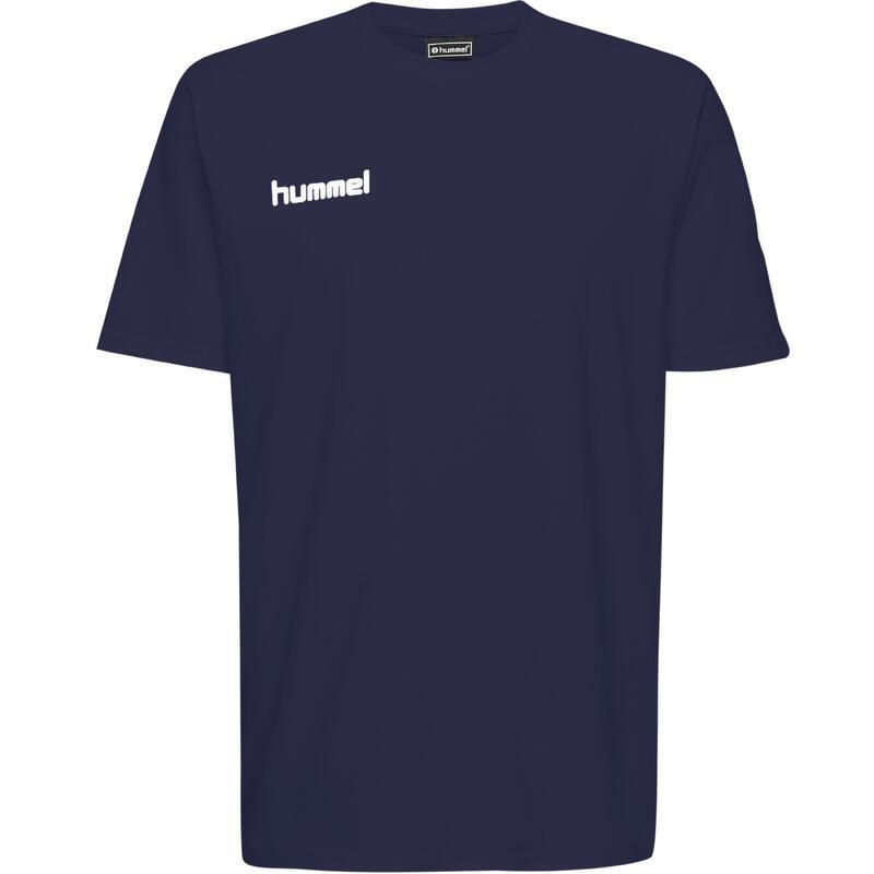 Maillot de handball coton MC homme bleu marine