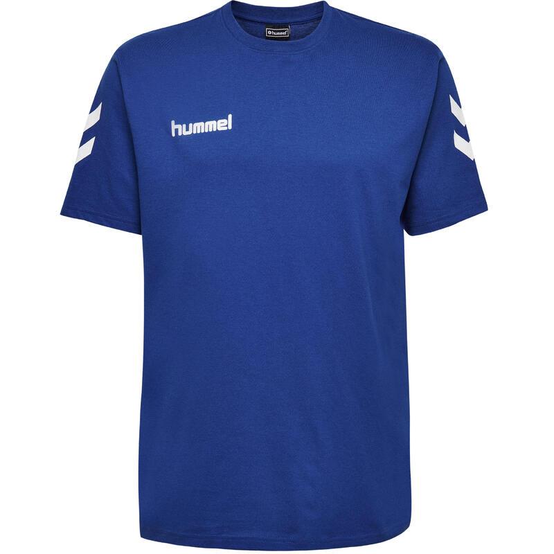 Maillot de handball MC coton homme bleu