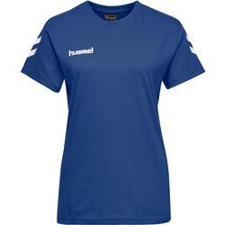 Handballtrikot Kurzarm Damen blau