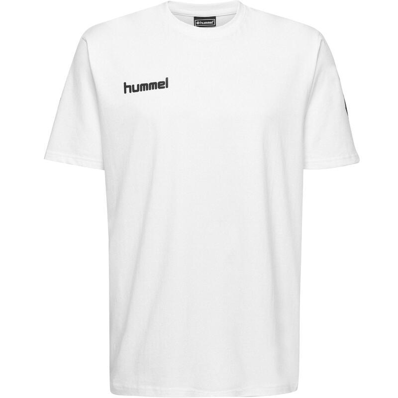 Maillot de handball coton MC homme blanc