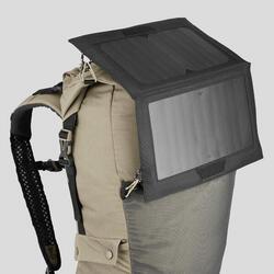 通風、防沙沙漠健行背包-DESERT 500 30 L-米色