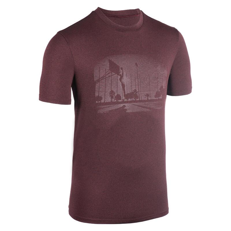 Men's Basketball T-Shirt / Jersey TS500 - Burgundy Playground