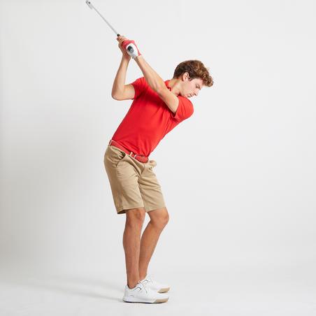 Vīriešu golfa šorti, bēši