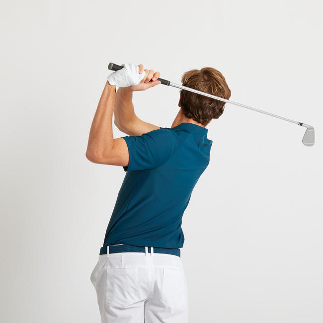 Men's Golf Ultralight Polo Shirt - Petrol