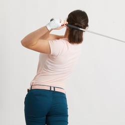 Golfpolo voor dames lichtroze