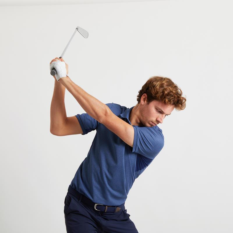 Men's Golf Polo Shirt - Light Blue