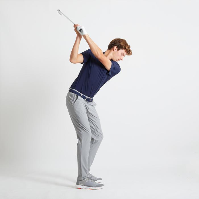 男款極輕量高爾夫長褲-灰色