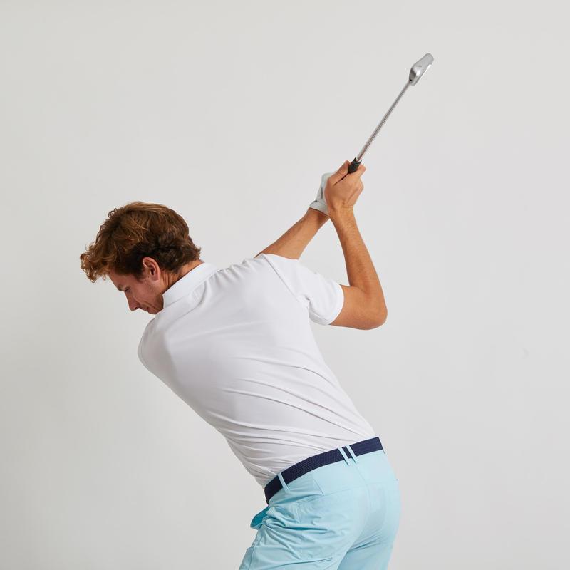Men's Golf Light Polo Shirt - White